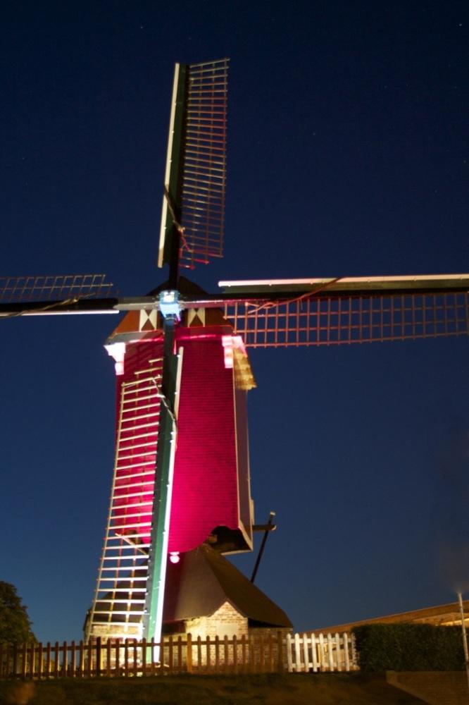 aanlichten monumentale molen