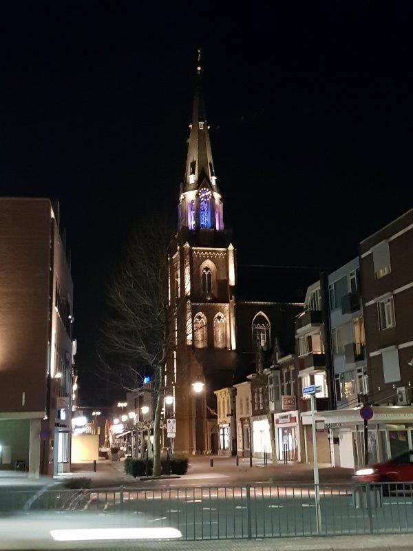Aanlichten kerk